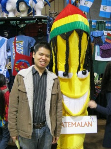 Vu and the Giant Grinning Banana of Doom.