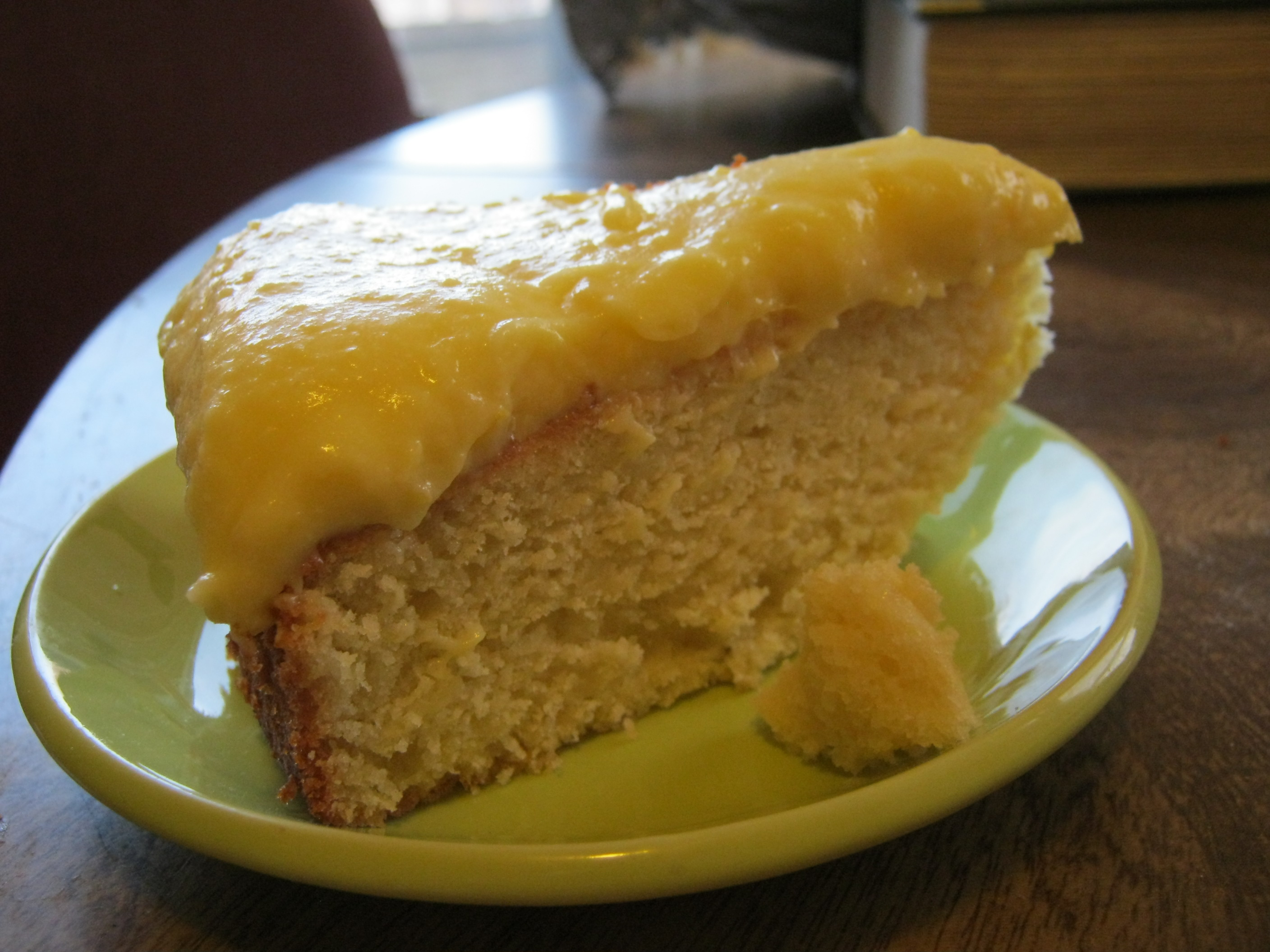 Lemon And Almond Streamliner Cake Recipe — Dishmaps